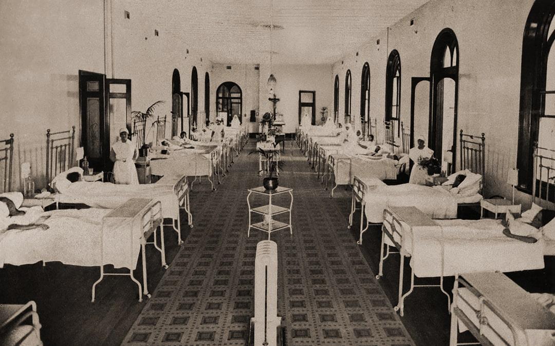 1800's hospital ward